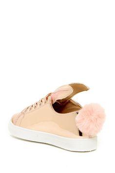 Bunny Faux Fur Sneaker by LILIANA on @nordstrom_rack