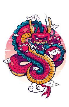 "Consulta este proyecto @Behance: ""Insurgent Dragon""…"