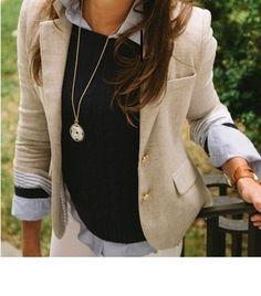 Tumblr casual blazer