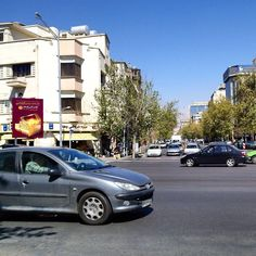tehran street. #streetphotography #street #cars #persian #tehranpic #sky #streetlife #life #iranian #trees #irantravel #travel