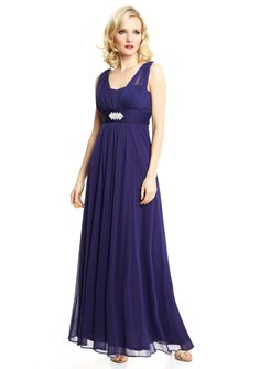 ONYX NITE  Princess Gown with Waist Detail  $59.99