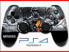 Battlefield 4 Skin PS4 Controller Skin Wrap Sticker Playstation 4 Skin Soldier Skin