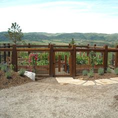Garden Fence Design Ideas, Pictures, Remodel, and Decor