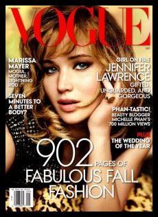 Jenifer Lawrence  Vogue magazine