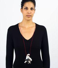 Necklace by Mirit Guggenheimer  (Shenkar)