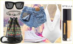What to wear: Coachella Edition. Outfit for day 1 #Coachella #bohoglam