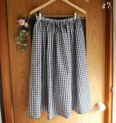 簡単にあなたサイズのウエストゴムのスカートの作り方 ソーイング 編み物・手芸・ソーイング   アトリエ 手芸レシピ16,000件!みんなで作る手芸やハンドメイド作品、雑貨の作り方ポータル
