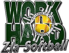 Design name: ENMU Zia Softball 4