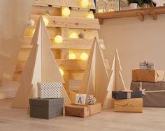 DIY : Réaliser un sapin pliable #leroymerlin #diy #tuto #sapin #noel #ideedeco #madecoamoi