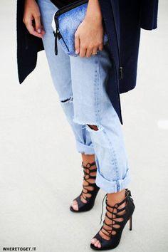 Ways to style turned up denim