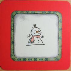 A christmas card for Lauran korttihaaste #63