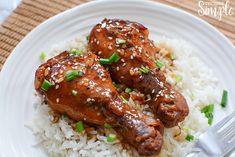 Slow Cooker Honey Garlic Chicken Legs are a perfect dish to serve on a busy weeknight. Chicken Leg Slow Cooker, Crockpot Chicken Leg Recipes, Breaded Chicken Recipes, Crockpot Meals, Pressure Cooking Recipes, Crock Pot Cooking, Slow Cooker Recipes, Mustard Chicken, Honey Garlic Chicken