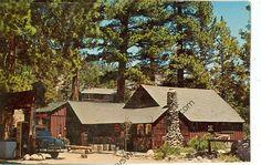 CALIFORNIA, BRIDGEPORT, LEAVITT MEADOWS LODGE 1960'S VINTAGE (CA-B*)