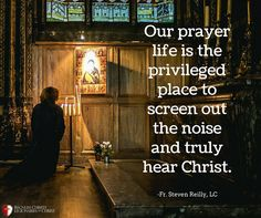 Fr. Steven Reilly Legionaries Of Christ, Christ Quotes, The Kingdom Of God, Note To Self, Thought Provoking, Prayers, Father, Notes, Teaching
