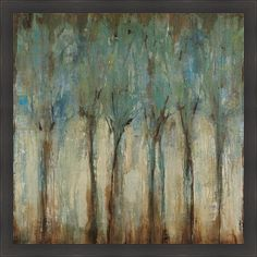 Fill up any gap on your wall with quiet sophistication with this contemporary framed print art. Whispering Winds, by Liz Jardine, is a gorgeous landscape that is sure to get your guests talking. The dark ebony frame makes the artwork really stand out.