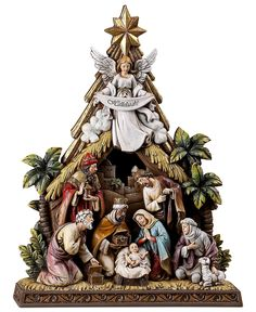 Napco Nativity Scene, Angel - Holiday Lane - Macy's Bridal and Wedding Registry