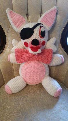 (4) Name: 'Crocheting : FNAF Mangle Crochet Pattern