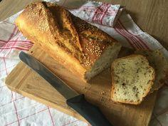 Dagasztás nélküli kenyér amit imádni fogsz – OTTHON mánia Sandwiches, Food And Drink, Bread, Snacks, Drinks, Breakfast, Fast Foods, Mascarpone, Drinking