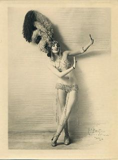 1920's showgirl