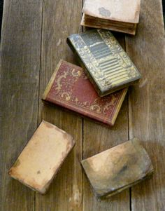 Dollhouse Miniature Books Aged 1:12 Large Set by BettieMiniatures