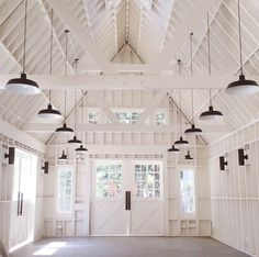 Lighting / Color idea for barn loft