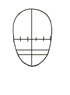 The Wonderful Obsessions: Lesson 8 - Drawing a face - Proportions