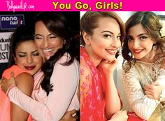 Sonakshi Sinha gets Priyanka Chopra and Sonam Kapoor's love for being a total baller on Twitter! #SonakshiSinha #PriyankaChopra