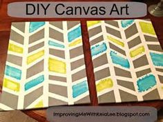 canvas art diy - - Yahoo Image Search Results