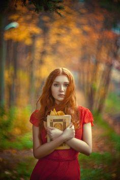 Pensive. Autumn fairy tale   by Olga Gabsattarova