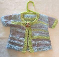 #NannaKnits #kiwimade #littlebrotherbigbrother #handknit #babywear Pastel Jacket, Angela White, Scalloped Hem, Pretty Pastel, Baby Wearing, Hand Knitting, Brother, Stripes, Wool