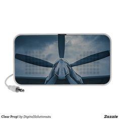 Clear Prop! Travel Speaker