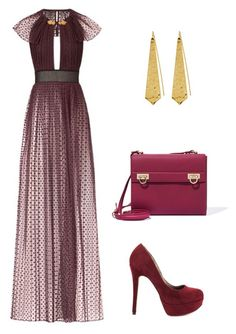 """fyj"" by mironcheva1997 on Polyvore featuring мода, Burberry, Michael Antonio, Salvatore Ferragamo и Panacea"