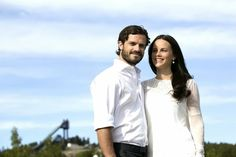 Prince Carl Philip and his fiancée Sofia Hellqvist gave an interview to a Swedish newspaper Dalarnas Tidning