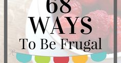 What a great list! Doable and definitely possible ways to live frugally.