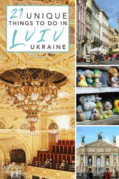 Travel Tips and Unique Things to do in Lviv, Ukraine