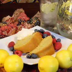 Old Fashioned Pound Cake, Just Fresh, Cake Ingredients, Juice, Cheesecake, Salt, Lemon, Menu, Butter