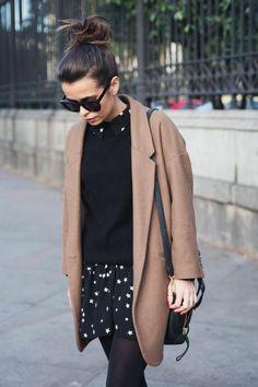 CamelRobe chic de tenue femme soirée Manteau Vintage PullJupe tenue decontractée pantalon fgyvIYb76