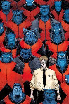 E is for Extinction #3 - Beast by Ian Bertram *