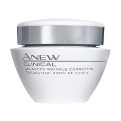 Anew Clinical Advanced Wrinkle Corrector with 4D WRINKLE-REVERSE TECHNOLOGY plumps out the look of lines and wrinkles and visibly improves elasticity and resilience.* Improve the look of fine lines and deep wrinkles by 28% overtime**. Immediately visibly plumps out wrinkles and fine lines.* 1.7 fl. oz. TO USE: Gently smooth over face and neck, upward and outward, targeting wrinkles. Use AM and PM after cleansing.