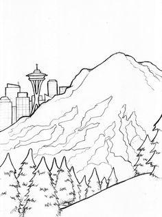 Mt Rainier - Seattle