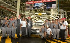 R1bn investment sees new Corolla roll off the line