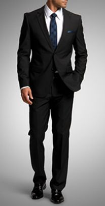 Nothing is more sexy than a guy in a tailored suit.