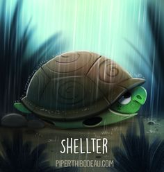 Daily+Paint+1549.+Shellter+by+Cryptid-Creations.deviantart.com+on+@DeviantArt