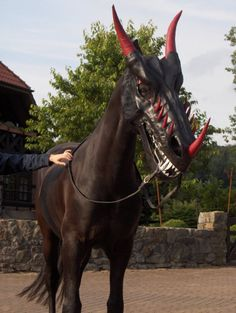 Scary Mask For Your Horse | Incredible Things