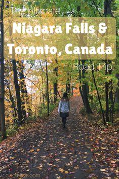 A great road trip guide to Niagara Falls & Toronto, Canada! #canadatravel