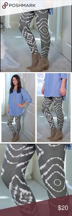 ⚜Infinity Raine Tie-dye Leggings⚜ Infinity Raine tie-dye knit leggings soft brushed that comfortably fit up to size 12⚜ 92% polyester and 8% spandex⚜Photo Credit: Infinity Raine Infinity Raine Pants Leggings