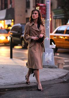 The 40 Chicest Women in Trench Coats of All Time: Keira Knightley, 2008