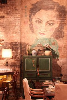 Channelling 1930s Shanghai at Mr Wong, a great new restaurant on Bridge Lane in Sydney.