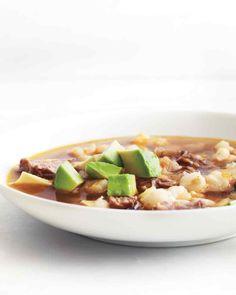 Crock Pot Pork and Hominy Stew