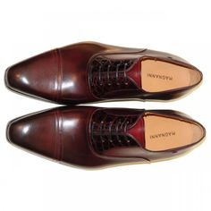 Magnanni - Magnanni Men's Shoes, Magnanni 6995 Burgundy, Magnanni Shoe | PelleLine.com